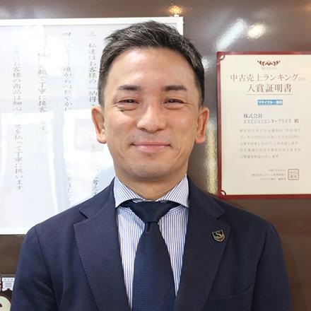 大阪府・京都府 上野統括マネージャー